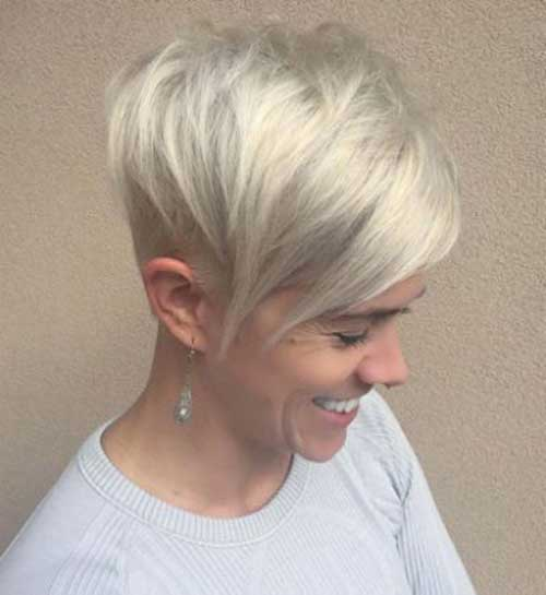 Short Blonde Hair 2018-6