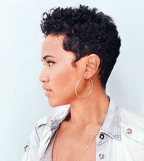 Short Hairstyles for Black Women-8