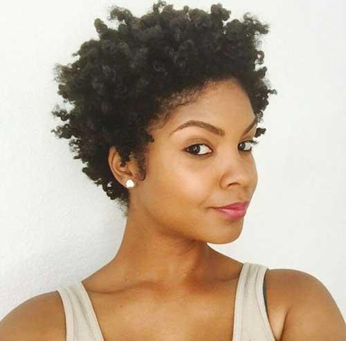 Short Hairstyles for Black Women-9