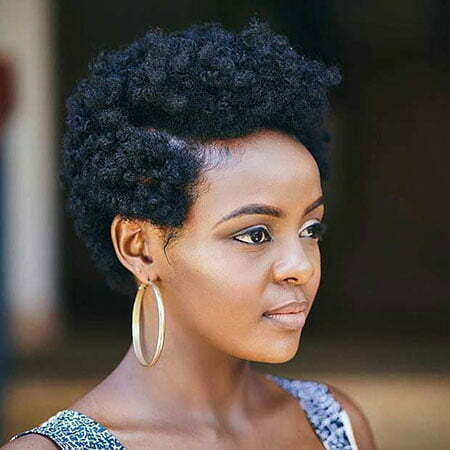 Short Natural Haircuts for Black Women, Natural Black Short Hairtyles