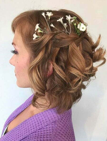 Hair Wedding Balayage Curly
