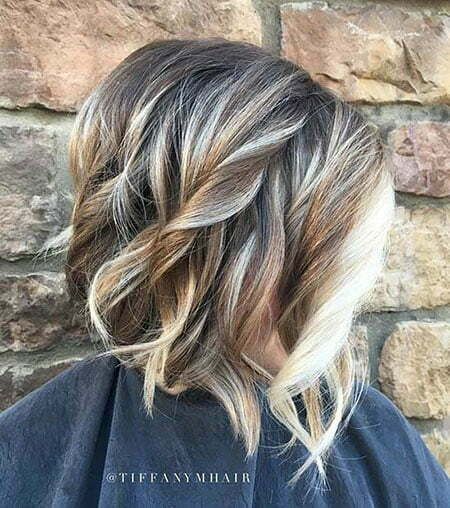 Blonde Balayage Highlights Face