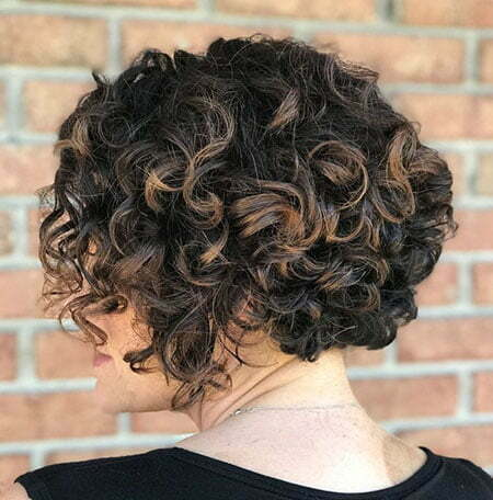 Curly Bob Hairtyles Short