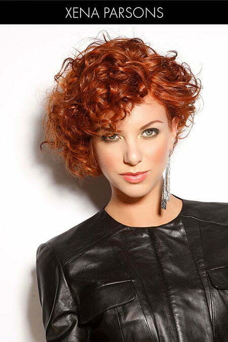 curly styles for short hair 25 hairstyles for curly hair 2079 | 12 Short Curly Asymmetrical Hairtyles 540