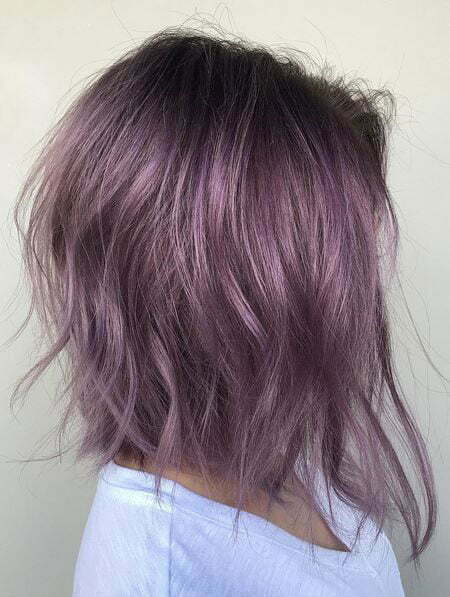 Bob Color Violet Colors