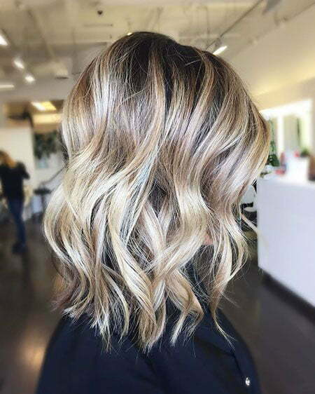 Blonde Balayage Platinum Hairtyles