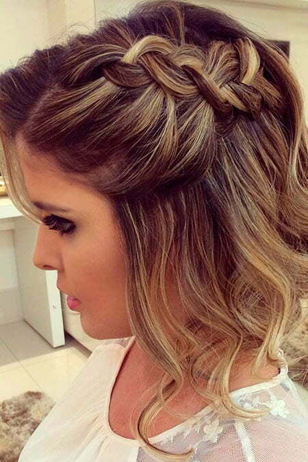 Hairtyles Prom Braid Short