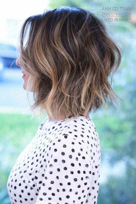 Balayage Bob Short Layered