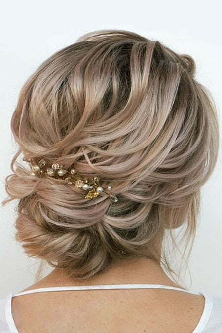 Hair Wedding Updos Low