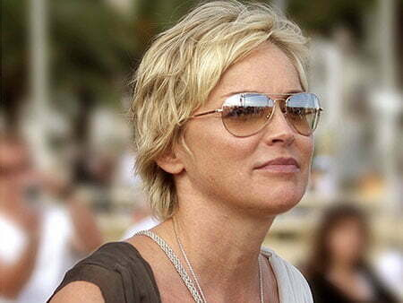 23 Sharon Stone Short Hairstyles