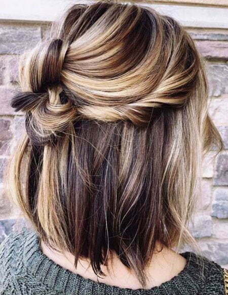Hair Balayage Updo Summer