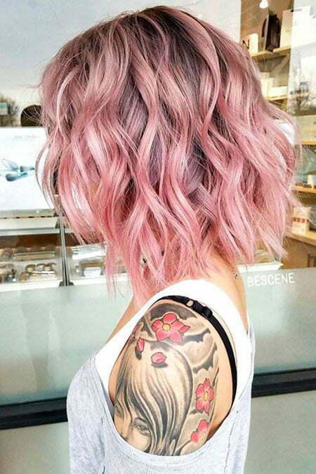 Hair Length Medium Wavy
