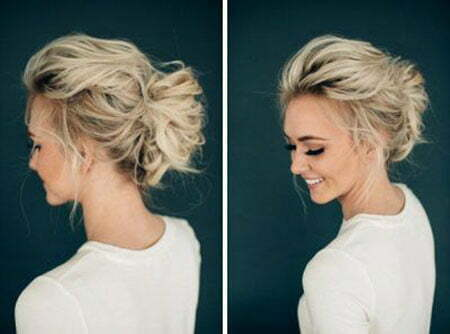Wedding Hair Updo Messy