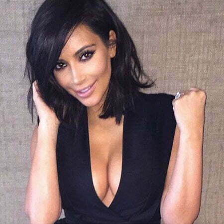 Kim Kardashian Short Jenner