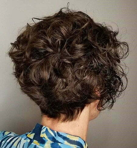Curly Short Messy Hairtyles