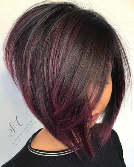 Bob Hair Line Color
