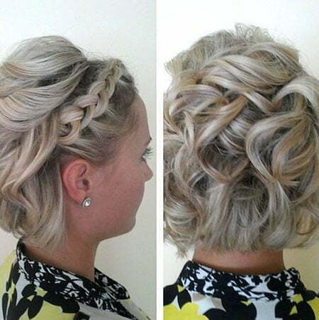 Updo Short Hair Hairtyles