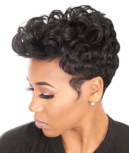 Short Black Women Hair