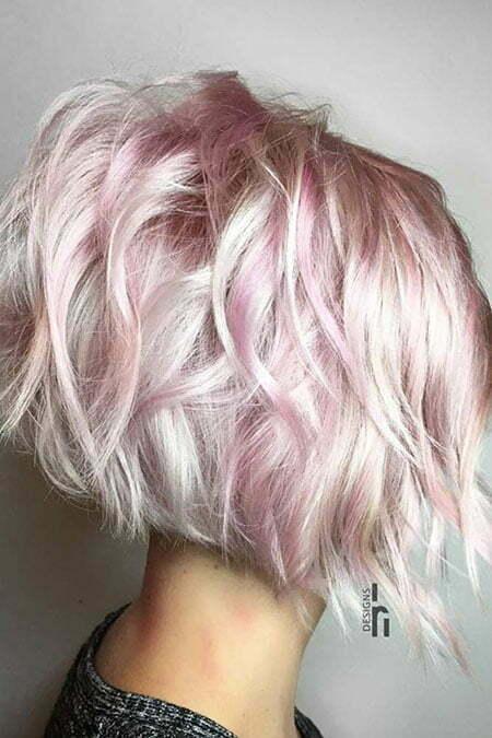 Hair Gold Pink Pastel
