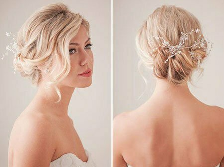 25 Bridal Hairstyles For Short Hair Short Hairstyles 2018 2019