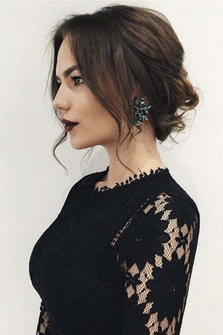 Updo Hair, Hair Updo Selena Length