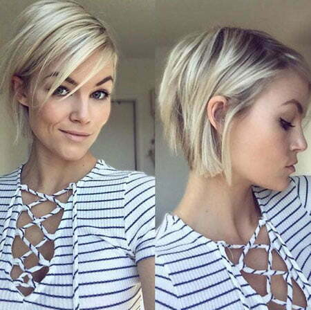 Short Bob Hair, Short Bob Length Chin