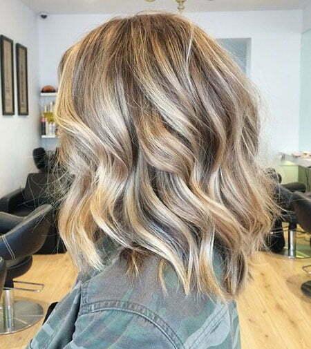 Blonde Brown Hair, Wavy Blonde Hair Balayage