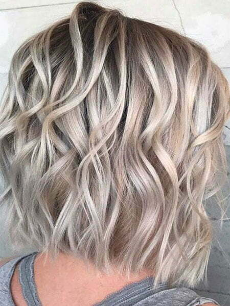 Hair Blonde Color Length