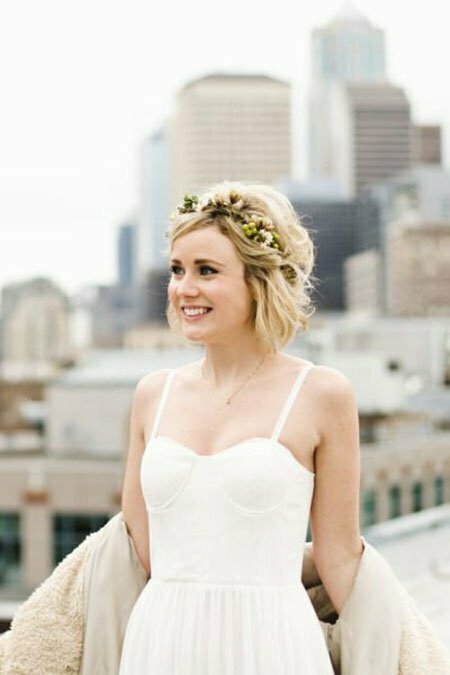 Wedding Bride Hairtyles Flower