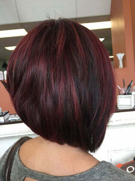 Short Red Layered Hair
