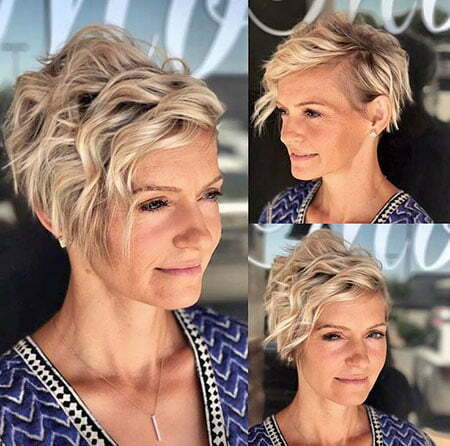 20 Short Hairstyles For Wavy Hair Short Hairstyles 2018 2019