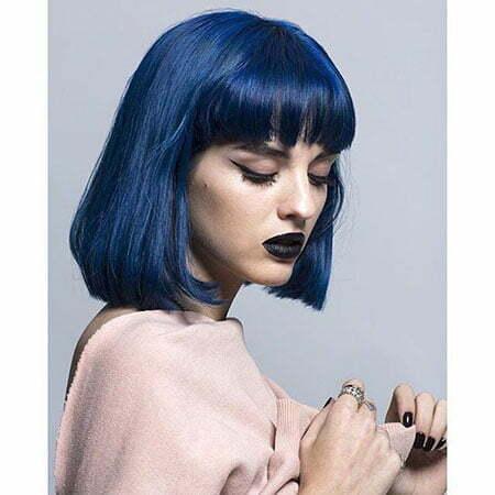 Blue Hair Dark Katy