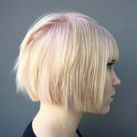 Blonde Bob Short Straight