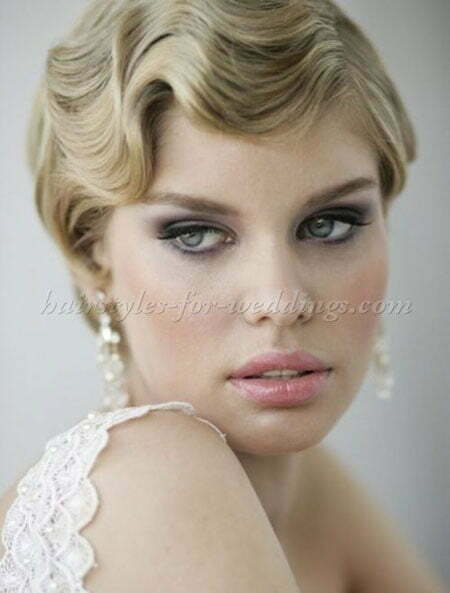 Short Up Wavy Bridal