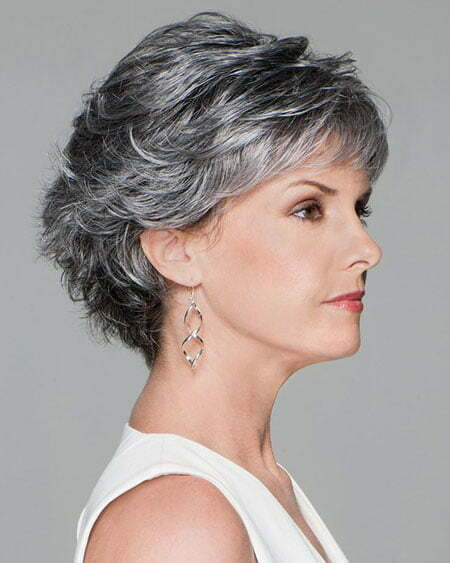 Layered Pixie Cut, Short Hair Full Back