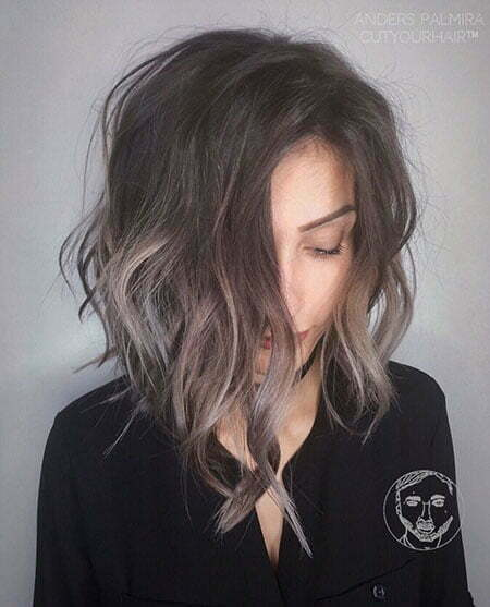 Brown Balayage Shag, Balayage Shag Brown Hair