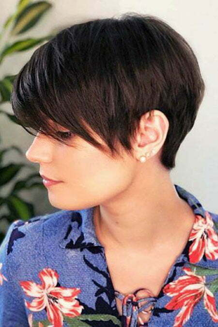 Short Pixie Hair All
