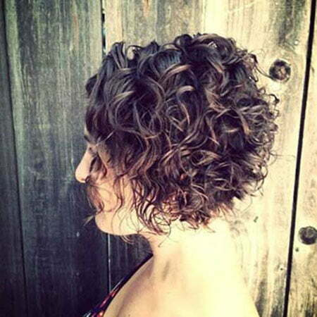 Curly Short Hairtyles Bob