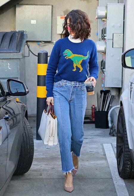 Selena Gomez Street Fashion