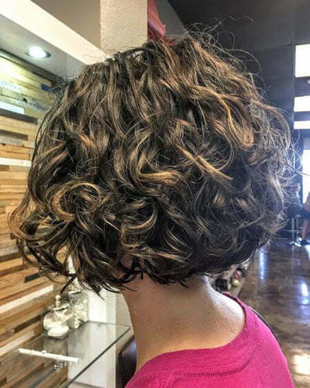 Layered Short Hair, Curly Short Bob Hairtyles