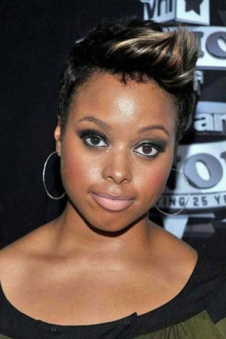 short haircuts for black ladies 12 haircuts for black with faces 3527 | 9 Short Hairtyles Black Women Round Face 479
