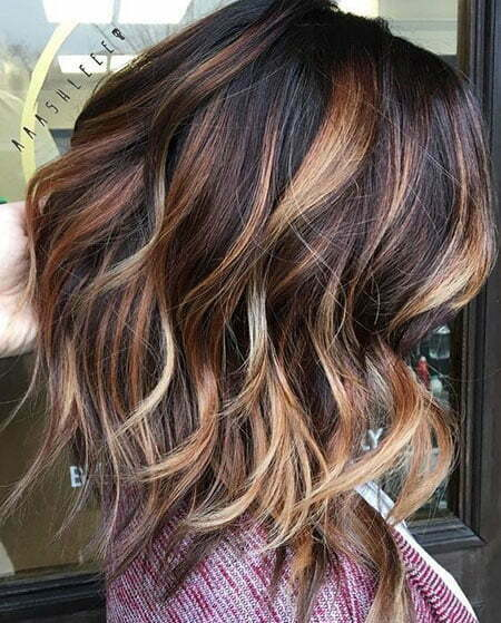Hair Brown Balayage Color