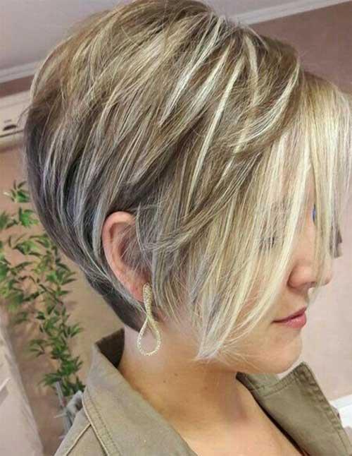 Ash Blonde Pixie Bob Haircuts for 2018