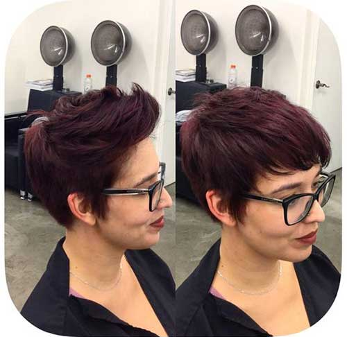 Brunette Pixie Haircuts