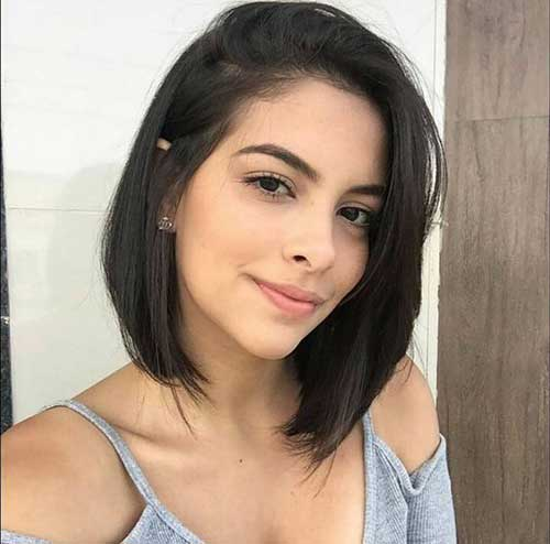 Latest Hair Style 2018 Attend Wedding Hair Tied Back: 15 Latest Bob Haircuts