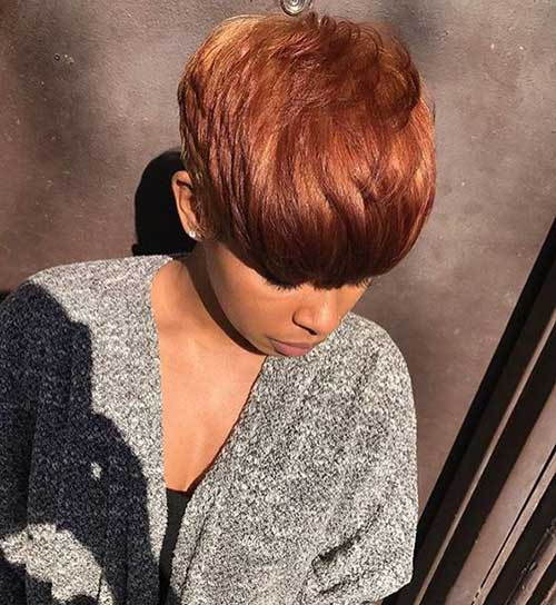 Colored Pixie Haircuts 2018