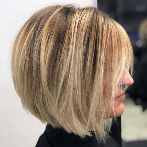 Layered Bob Hairstyle for 2018