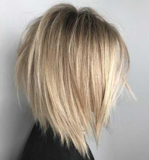 Neck Length Layered Bob Haircuts for 2018