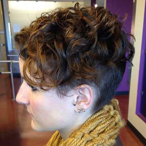 Pixie Haircuts Kurze Haare Unterschnitt Perm