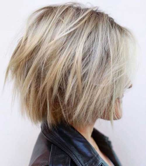 Short Blonde Bob Haircuts for 2018